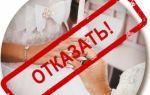 Обстоятельства, препятствующие заключению брака по законодательству РФ