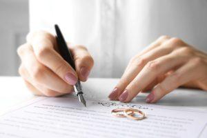 Кольца и договор