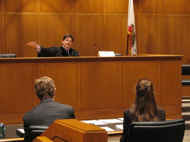 Семья в суде